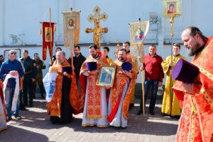 Руководство, преподаватели и студенты семинарии приняли участие в престольном торжестве храма Воскресения Христова