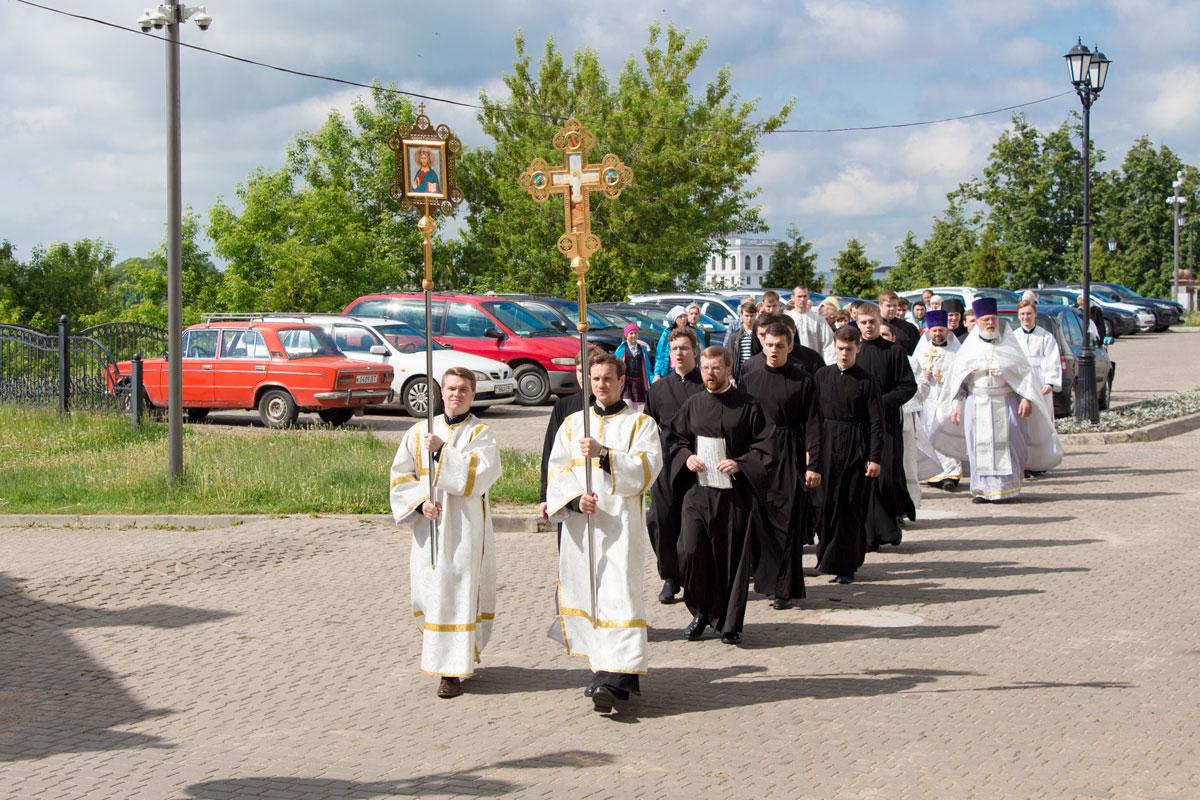 Актовый день в Витебской духовной семинарии