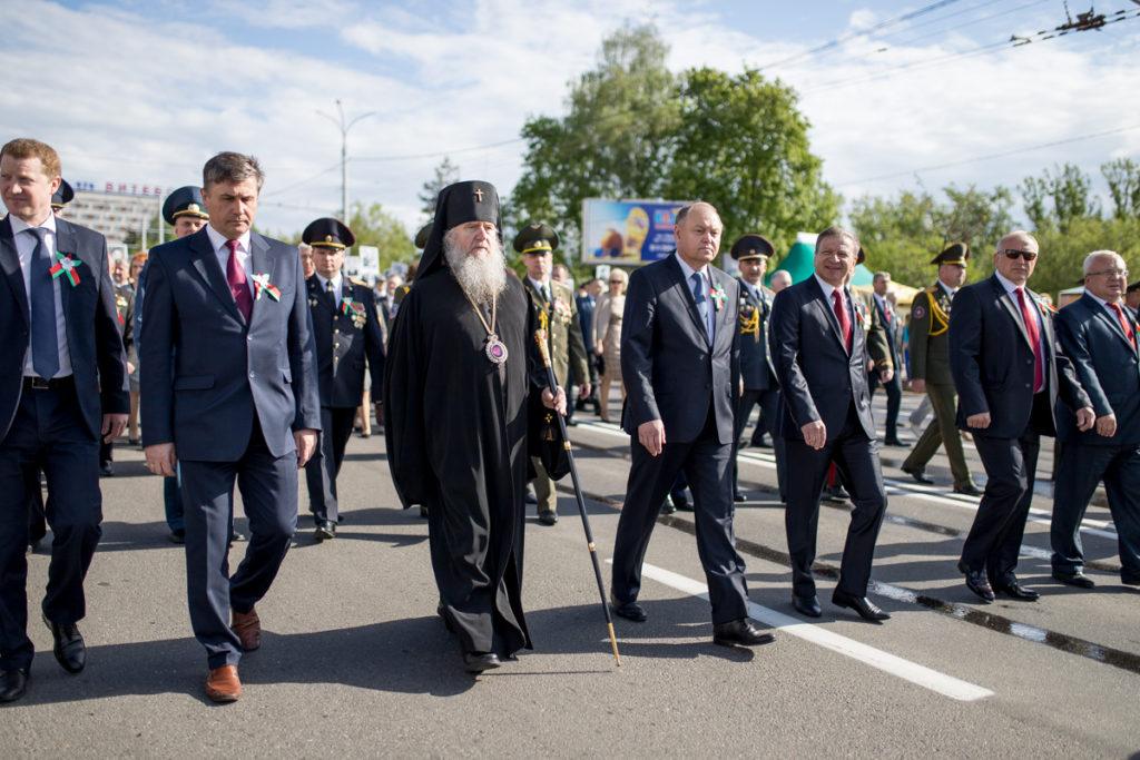 Витебская духовная семинария приняла участие в праздновании Дня Победы