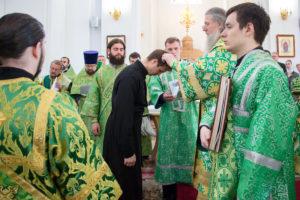 Выпускной акт в Витебской духовной семинарии