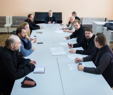 В Витебской духовной семинарии состоялось заседание Педагогического совета