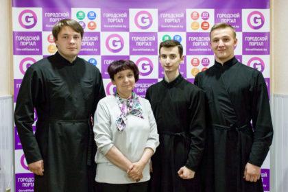 Семинаристы посетили редакцию Витебского городского информационного портала