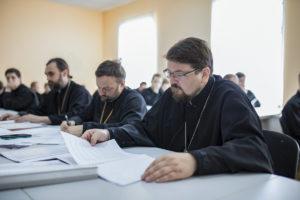 В Витебской духовной семинарии прошла защита курсовых работ