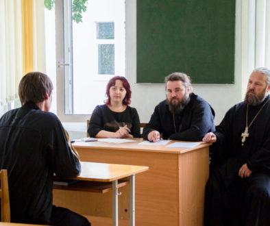 Расписание вступительных экзаменов в Витебскую духовную семинарию