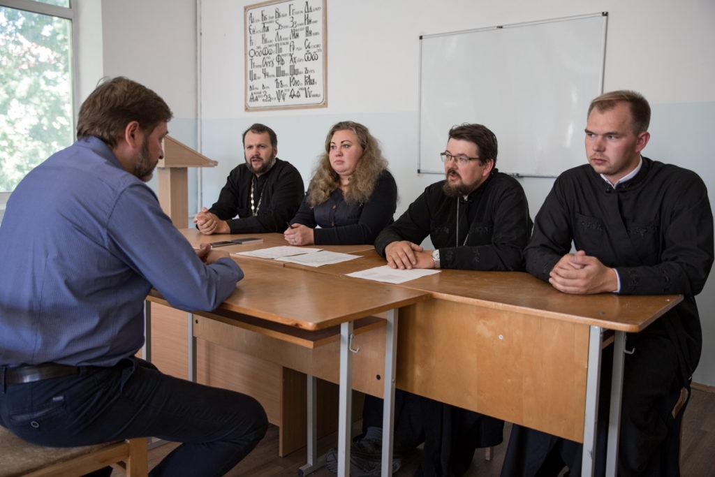 В Витебской духовной семинарии прошли вступительные испытания