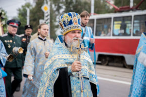 Крестный ход в праздник Успения Пресвятой Богородицы. Фоторепортаж