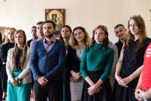 Витебскую духовную семинарию посетили представители областной организации БРСМ