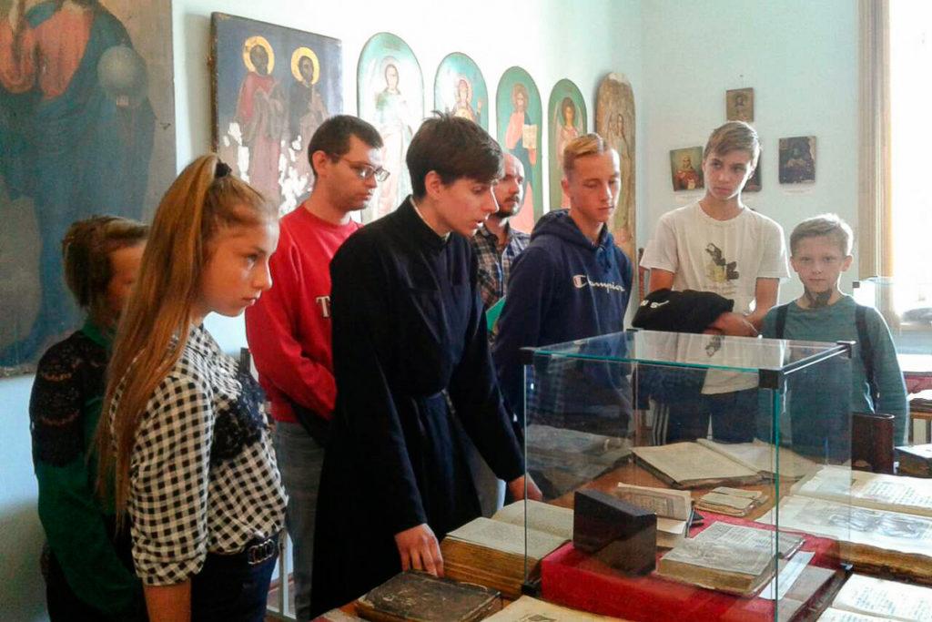 Витебскую духовную семинарию посетили  подростки, состоящие на учетах винспекции по делам несовершеннолетних