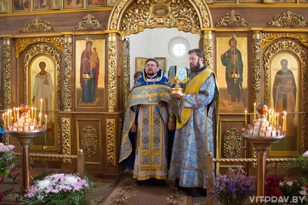 Ректор Витебской духовной семинарии почтил память Оршанской иконы Божией Матери