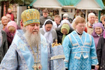Ректор семинарии возглавил престольные торжества в городе Орше