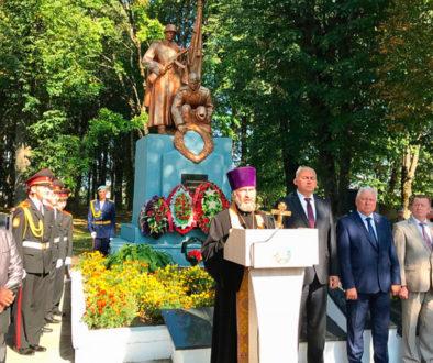 Представители Витебской духовной семинарии приняли участие в митинге в агрогородке Вороны
