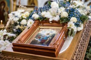 Ректор семинарии совершил всенощное бдение в Свято-Троицком Марковом мужском монастыре