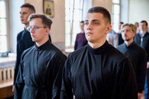 В праздник Усекновения главы Иоанна Крестителя в домовом храме Витебской духовной семинарии была совершена Божественная литургия
