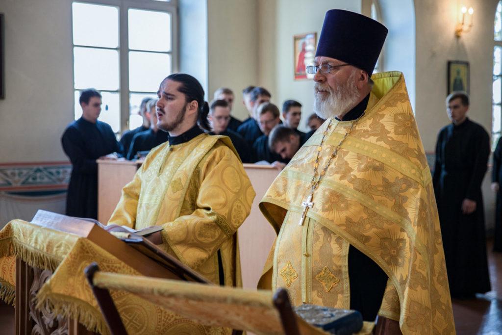 В семинарском храме был совершен молебен в честь Церковного новолетия