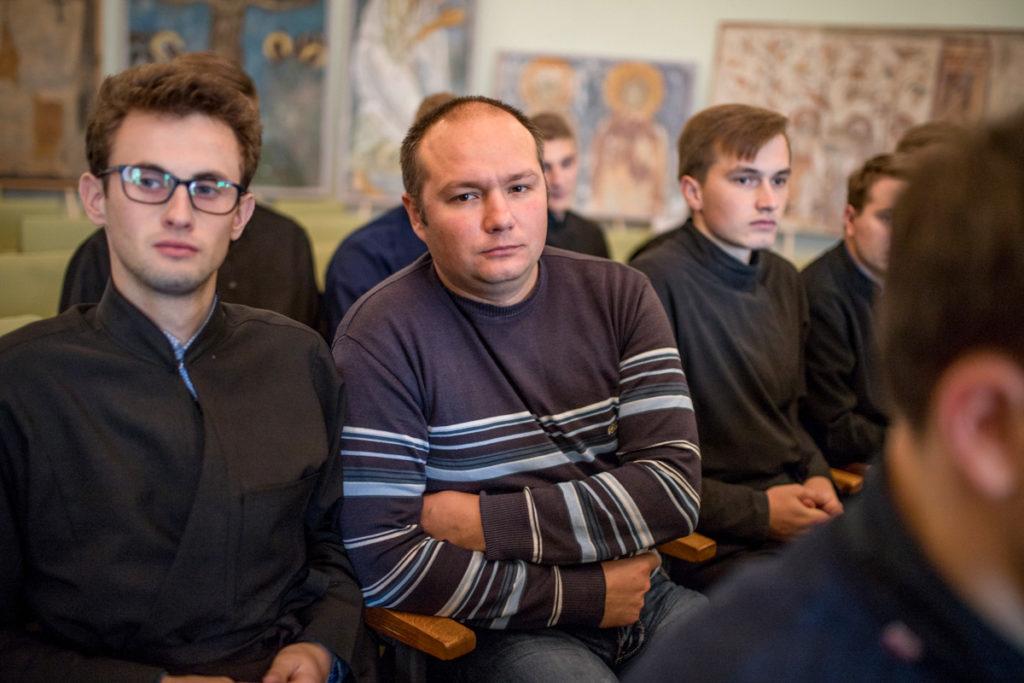 Состоялась беседа доктора психологических наук со студентами Витебской духовной семинарии
