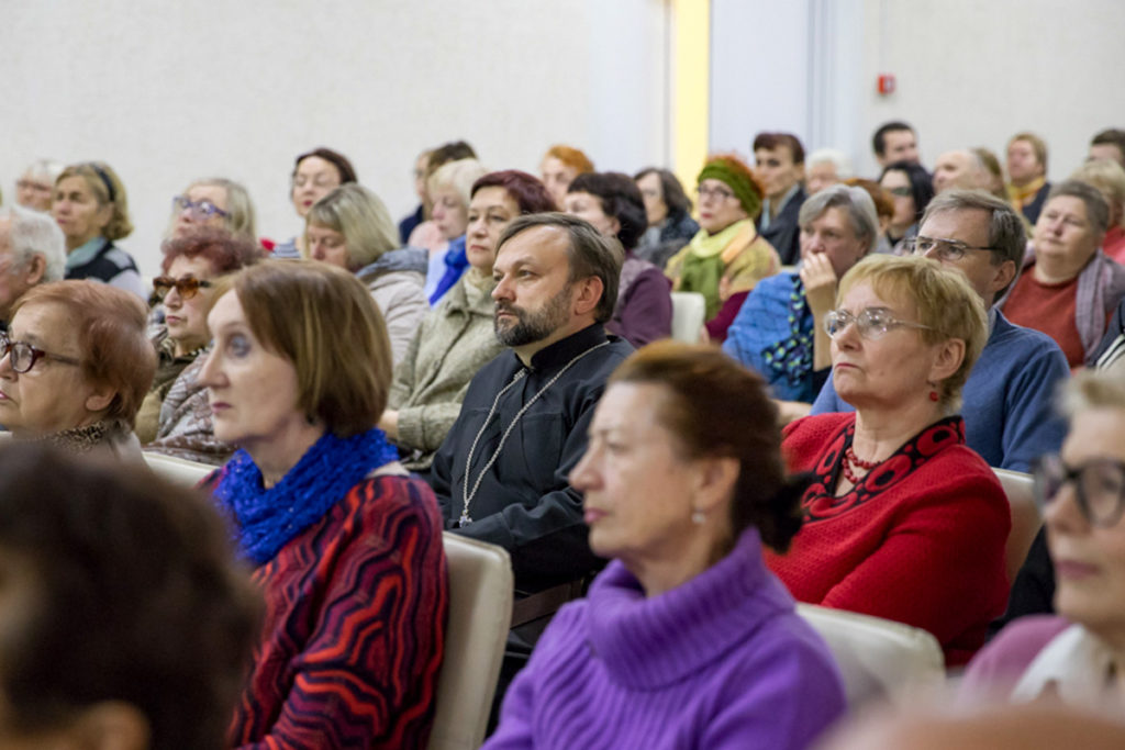 Семинаристы посетили первую лекцию третьего сезона курсов«Витебск: реальная и популярная история родного города»