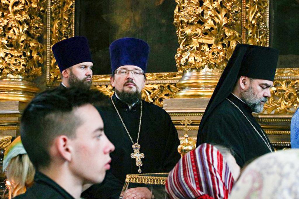 Первый проректор Витебской духовной семинарии посетил мероприятия в честь 290-летия Смоленской духовной семинарии