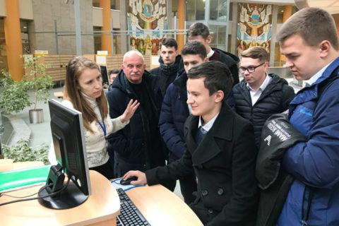 Семинаристы посетили Национальную библиотеку Беларуси