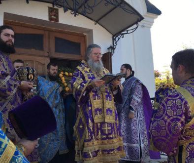 Ректор семинарии возглавил престольные торжества в храме иконы Божией Матери именуемой Целительница города Витебск