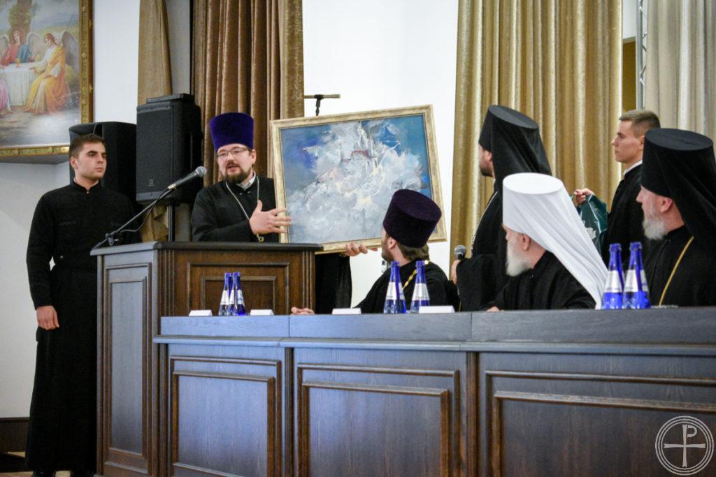 Первый проректор семинарии принял участие в торжествах по случаю актового дня Минской духовной академии
