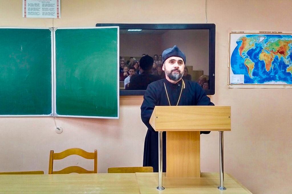 Проректор по воспитательной работе прочитал лекцию в ВГУ имени П. М. Машерова