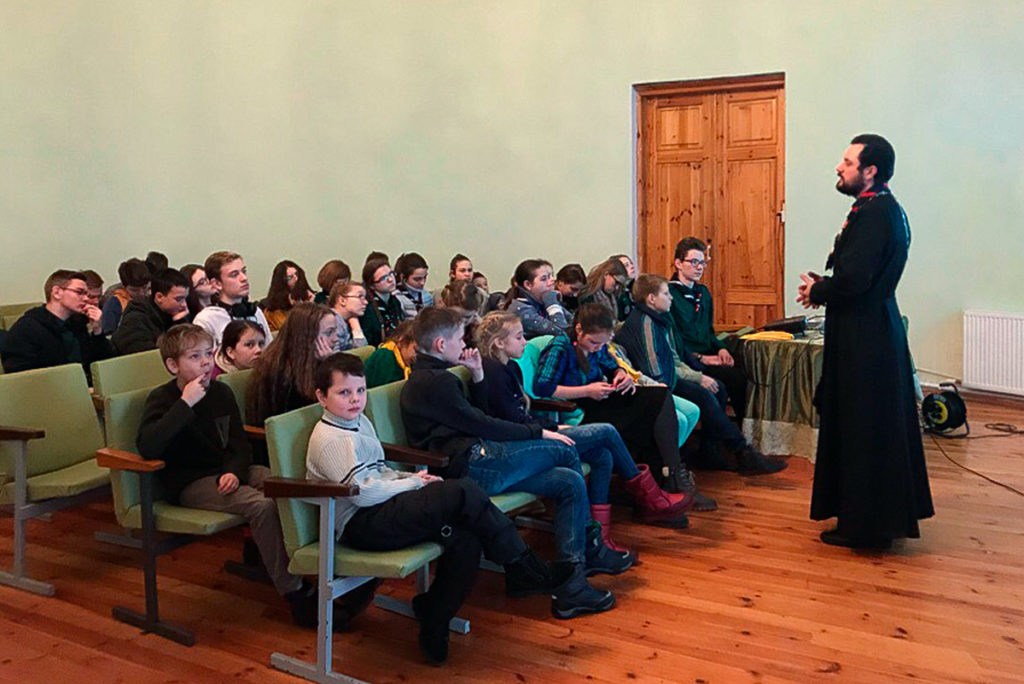 В Витебске прошел второй кинофестиваль православных скаутов Беларуси