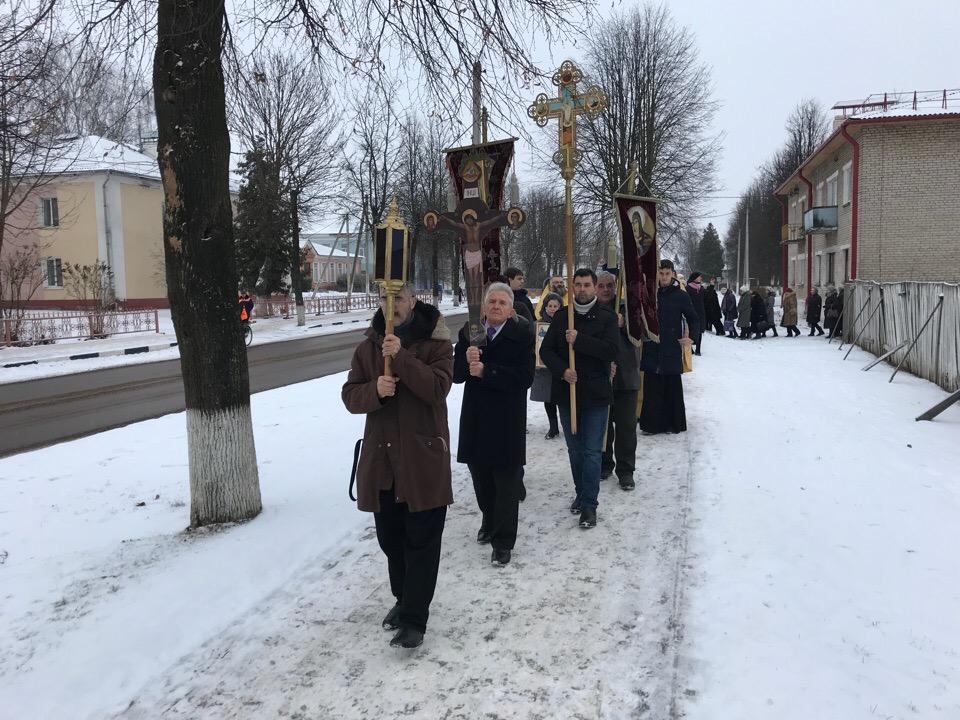 Представители семинарии приняли участие в престольных торжествах в агрогородке Шумилино