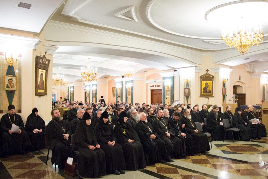 Руководство и преподаватели семинарии приняли участие в ежегодном отчётном собрании духовенства и мирян Витебской епархии