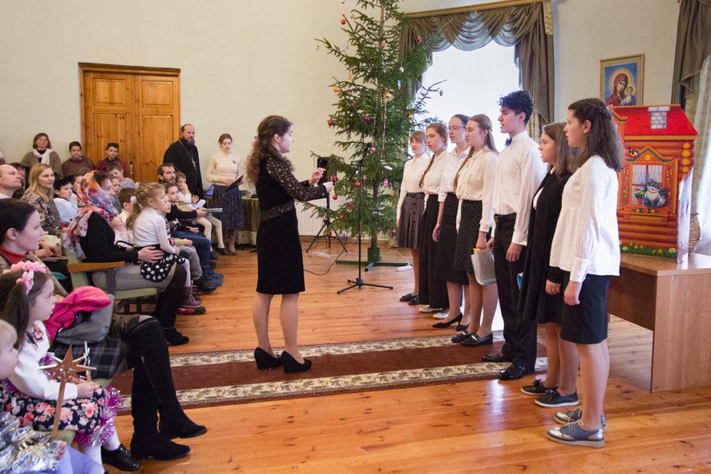 В Витебской духовной семинарии прошел рождественский праздник воскресных школ города Витебска