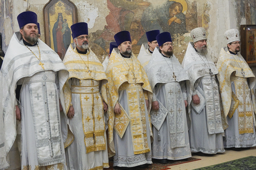 Представители семинарии молитвенно отметили День рождения ректора в храме святой великомученицы Ирины города Москвы