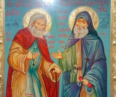 С 14 февраля в Витебске будет находиться икона преподобного Серафима Саровского и преподобного Гавриила Самтаврийского с частицами мощей