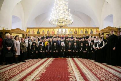Первый проректор принял участие в торжествах по случаю актового дня Минской духовной семинарии