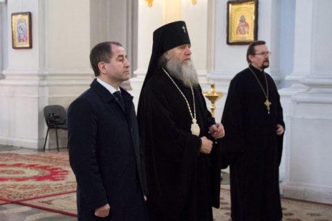 Витебскую духовную семинарию посетил Чрезвычайный и Полномочный Посол Российской Федерации в Республике Беларусь