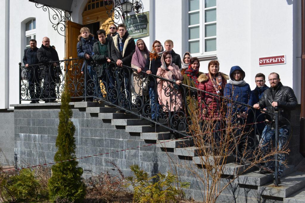 Семинарию посетили участники международного проекта «Жемчужное ожерелье Святой Руси»