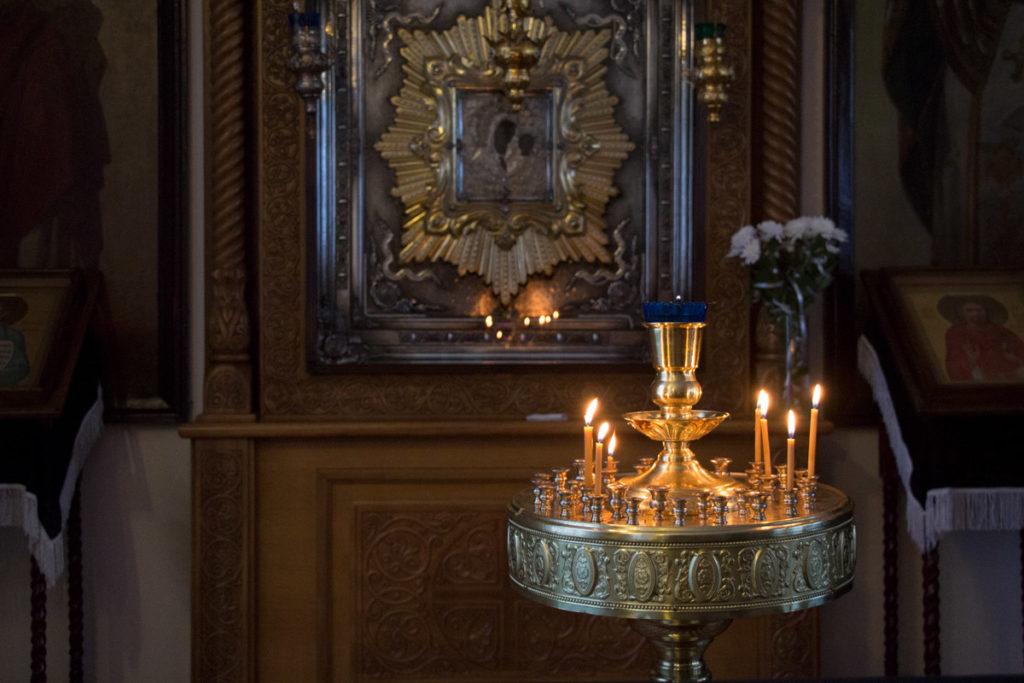 В среду первой седмицы Великого поста семинаристы помолились в Марковом мужском монастыре города Витебска