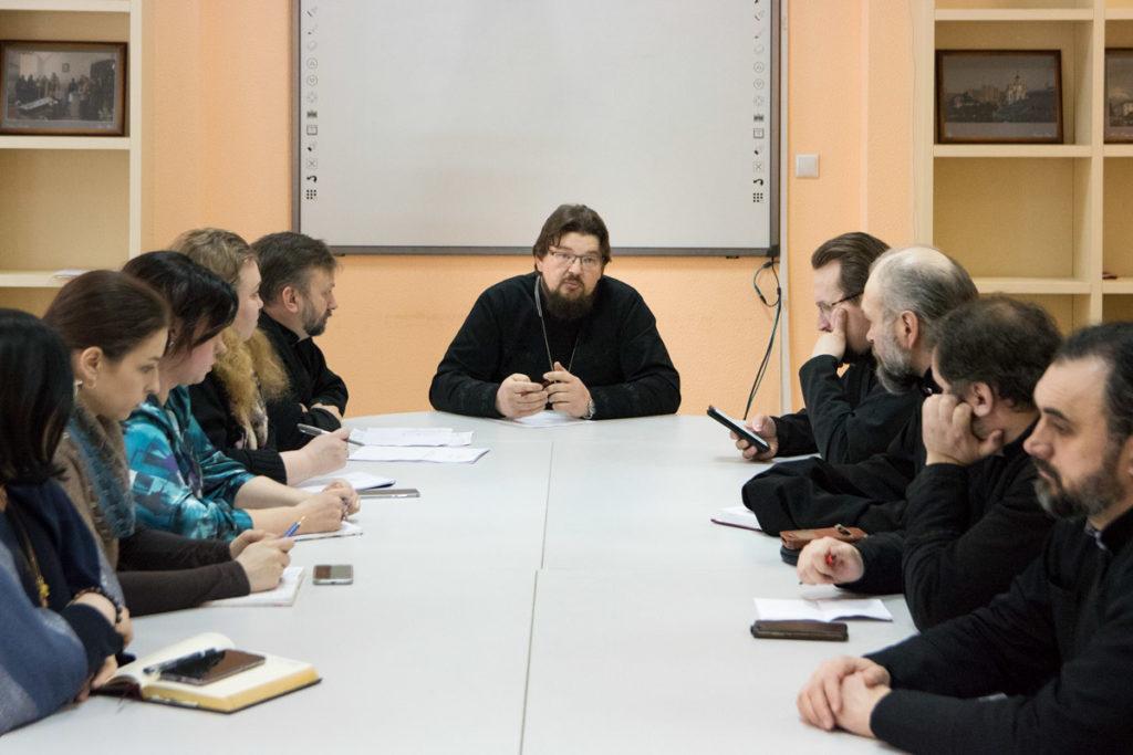 В Витебской духовной семинарии прошло заседание Ученого совета
