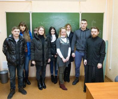 Преподаватель апологетики провел беседу со студентами Витебской государственной академии ветеринарной медицины