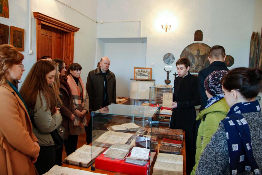 Студенты Витебского государственного медицинского университета посетили Витебскую духовную семинарию