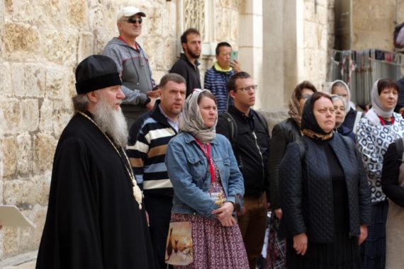 Ректор семинарии совершил паломничество на Святую землю