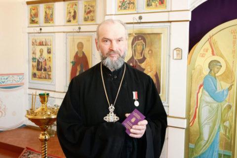 Преподаватель Ветхого Завета был удостоен высокой епархиальной награды
