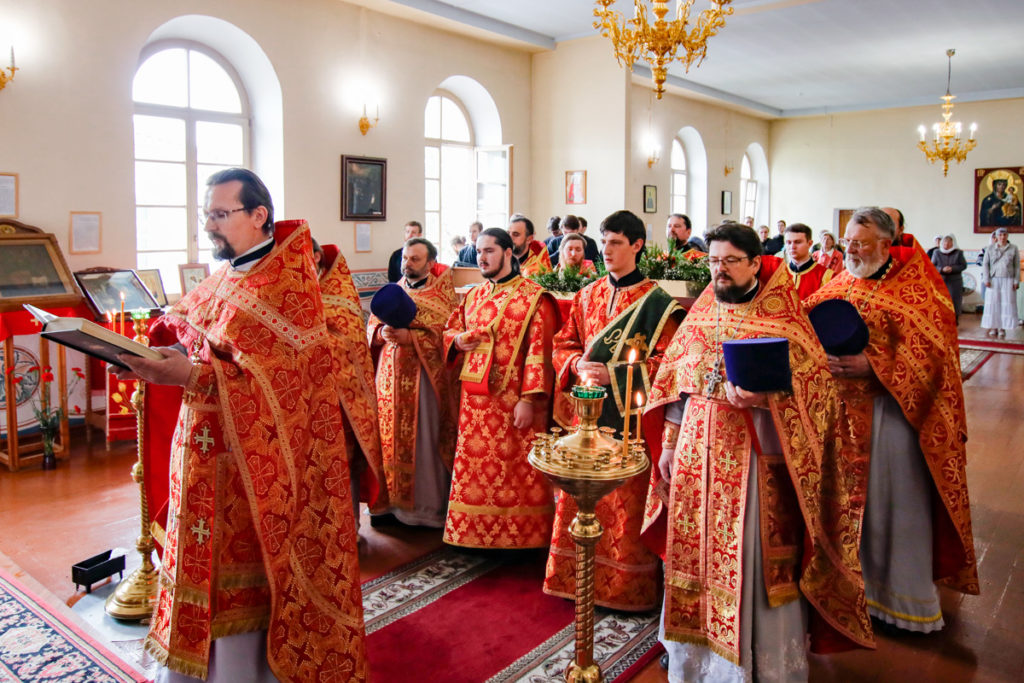 В Витебской духовной семинарии торжественно отметили Актовый день