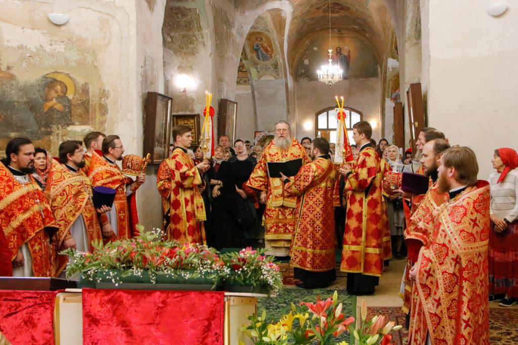 Престольные торжества в храме святой великомученицы Ирины