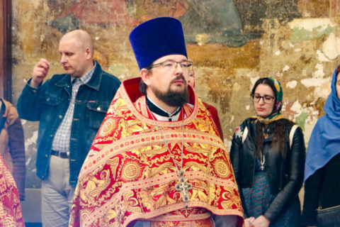 Руководство семинарии приняло участие в престольных торжествах храма святой великомученицы Ирины