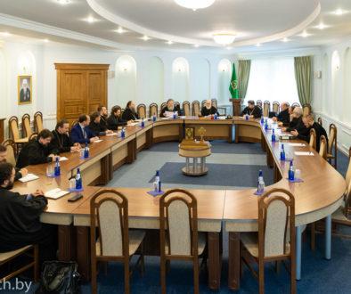 совещание ректоров и проректоров духовных школ Белорусской Православной Церкви