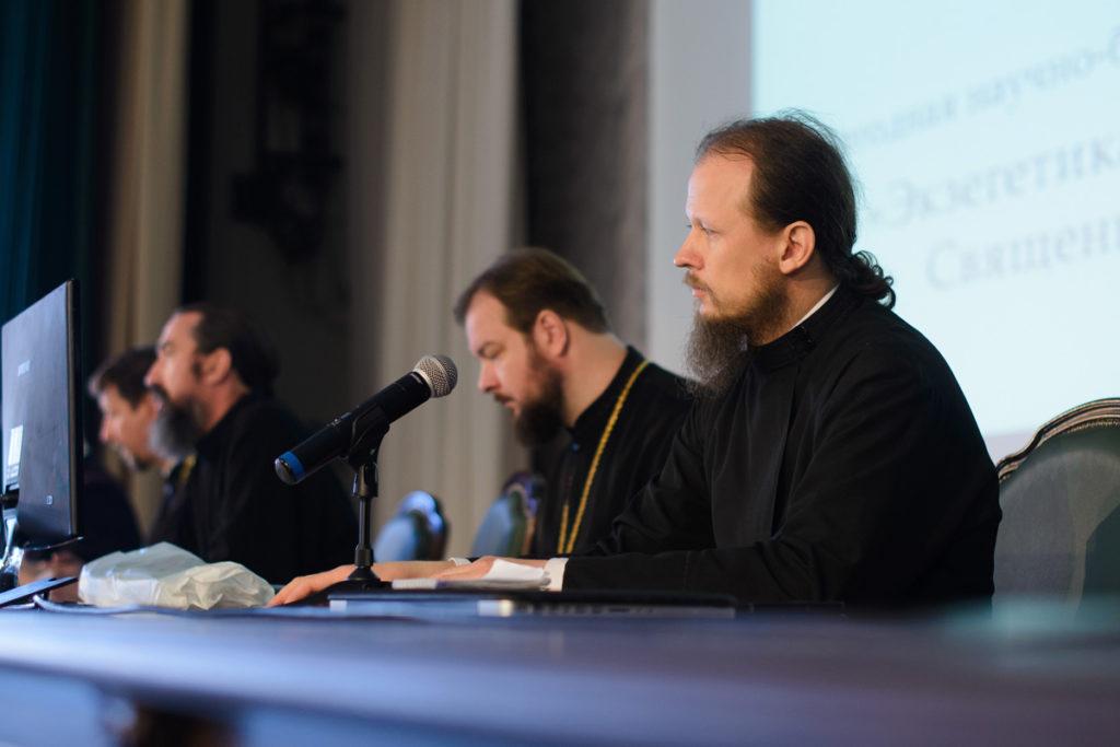 """Представители семинарии приняли участие в научно-богословской конференции""""Экзегетика и герменевтика Священного Писания""""."""