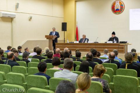 Представитель семинарии принял участие в заседании Координационного совета по разработке и реализации совместных программ сотрудничества между органами государственного управления и Белорусской Православной Церковью