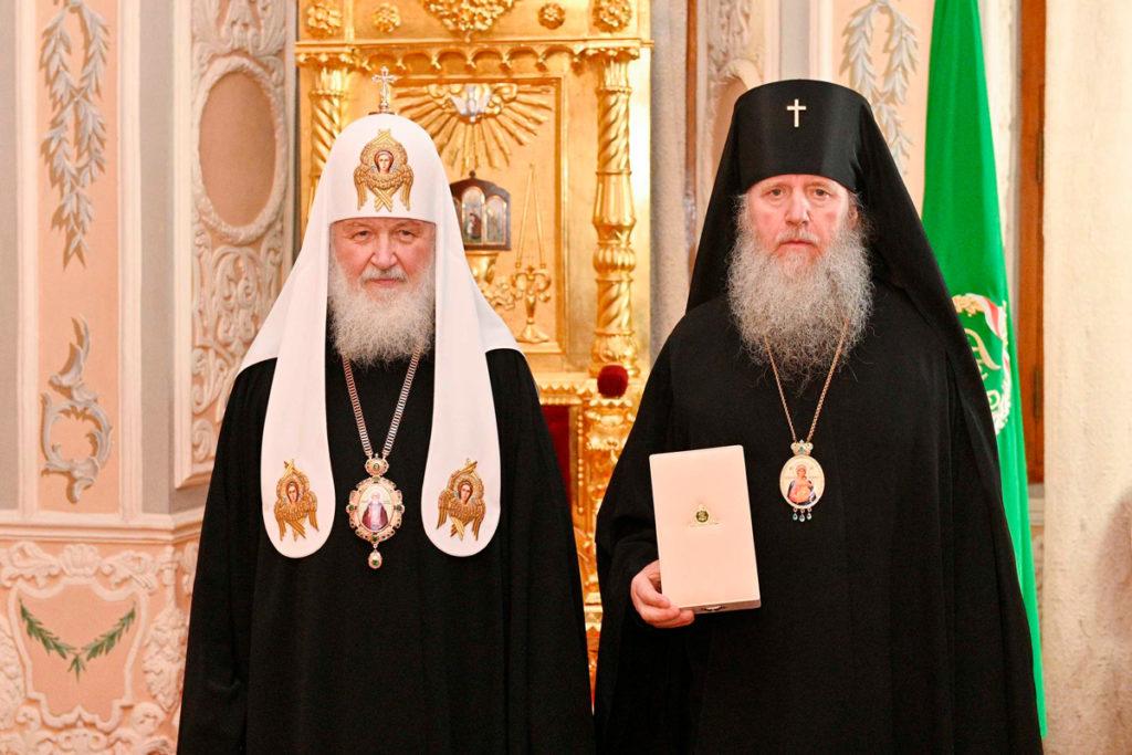 Ректор Витебской духовной семинарии был удостоен церковной награды