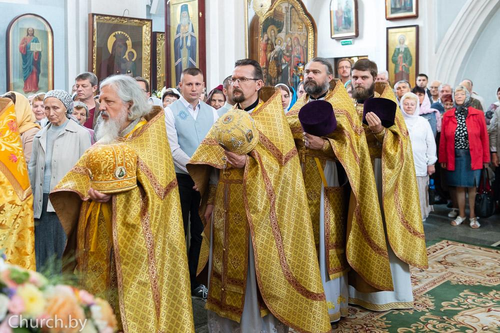 Ректор семинарии поздравил Патриаршего Экзарха всея Беларуси с Днем Ангела
