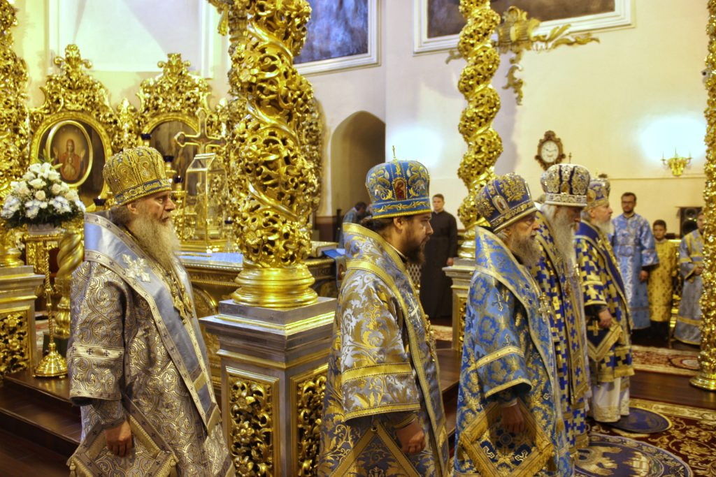 Ректор семинарии принял участие в торжествах в честь Смоленской иконы Божией Матери «Одигитрия»