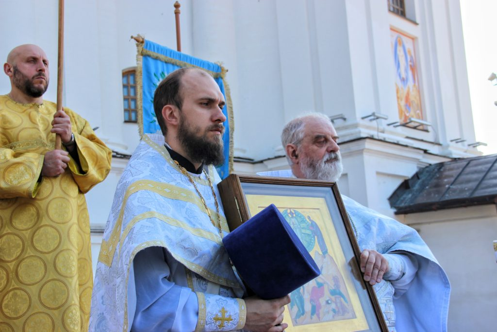 В храме Преображения Господня города Витебска торжественно отметили престольный праздник
